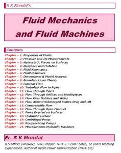 S K Mondal's Fluid Mechanics & Machines Notes