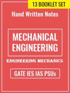 Learn Engineering Team Engineering Mechanics Handwritten Notes