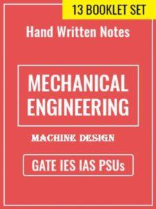 Learn Engineering Team Machine Design Handwritten Notes
