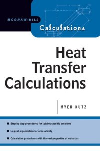 Heat Transfer Calculations By Myer Kutz
