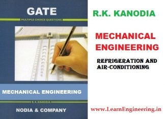 R K Kanodia Refrigeration and Air-conditioning Previous 12 Years Gate Questions with Solution