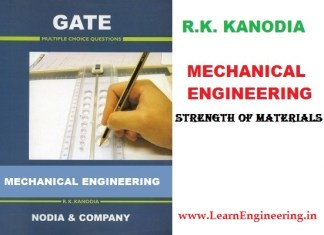 R K Kanodia Strength of Materials Previous 12 Years Gate Questions with Solution