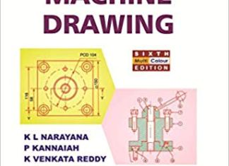 Machine Drawing By K.L Narayana