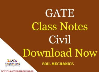 Gate Academy Soil Mechanics Notes