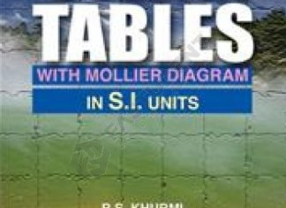 Steam Table By R.S.Khurmi Free Download