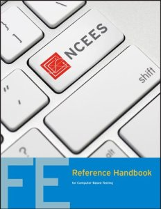 FE Reference Handbook By National Council of Examiners for Engineering and Surveying