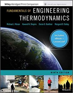 Fundamentals of Engineering Thermodynamics By Michael J. Moran