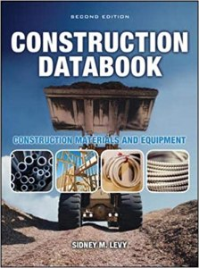 Construction Data book By Sidney Levy