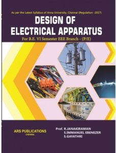 EE8002 Design of Electrical Apparatus