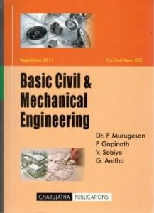 BE8252 Basic Civil and Mechanical