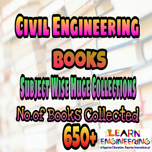 Civil Engineering huge collection of Text and Reference Books