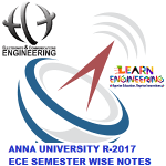 Electronics and Communication Engineering R2017 Semester wise Notes Collection