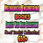 5. Mechanical Engineering Huge Collection of Text and Reference Books