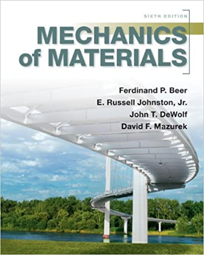 Mechanics Of Materials 7th Edition By Ferdinand P. Beer