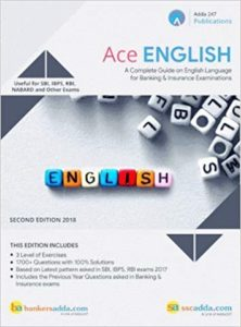 Ace English Language For Banking and Insurance By Adda247 Publications