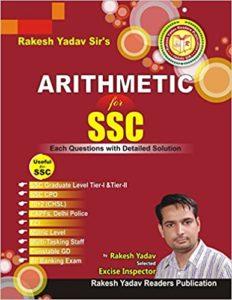 Arithmetic for SSC (English) By Rakesh Yadav
