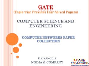 R K Kanodia Computer Networks Notes