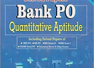 Chapterwise Solved Papers Bank PO Quantitative Aptitude By K Kundan