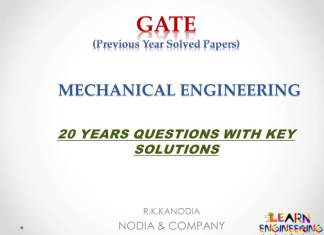 GATE Mechanical Engineering Previous Year Solved Papers