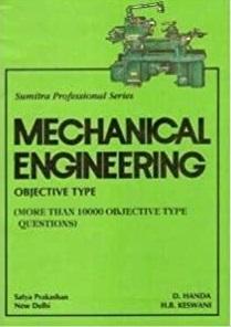 Mechanical Engineering Objective Type By D.Handa
