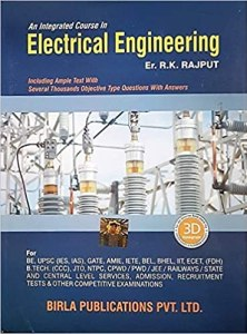 Objective Type Questions with Answers on Electrical Engineering By R.K.Rajput