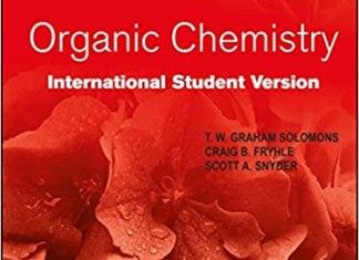 Organic Chemistry By Graham Solomons