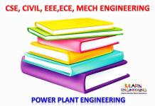 Power Plant Engineering Books