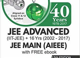 40 Years IIT-JEE Advanced + 16 yrs JEE Main Topic-wise Solved Paper Physics