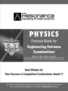 Physics Formula Book By Resonance Eduventures Limited