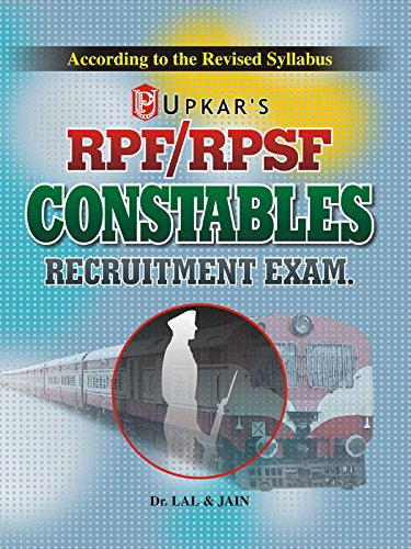 RRB RPF/RPSF Constables recruitment Exam By Dr. Lal & Jain