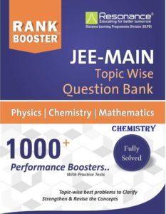 Resonance Rank Booster JEE Main Chemistry
