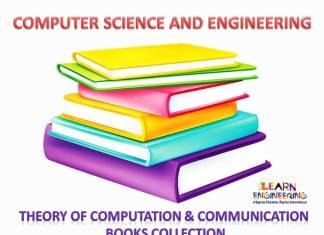 Theory of Computation and Communication Books
