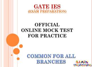 Mock Test For GATE