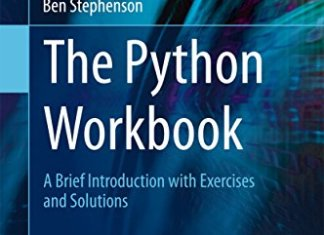 The Python Workbook By Ben Stephenson