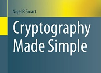 Cryptography Made Simple By Nigel P. Smart