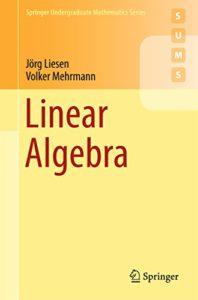 Linear Algebra By Jorg Liesen