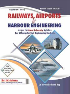 CE8702 Railways Airports Docks and Harbour Engineering