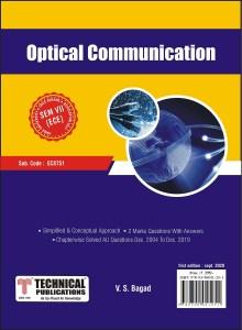 EC8751 Optical Communication