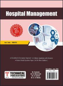 OBM752 Hospital Management