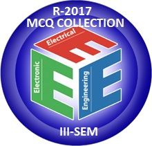 Electrical and Electronics Engineering R2017 Third Semester Subjects MCQ