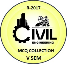 Civil Engineering R2017 Fifth Semester Subjects MCQ