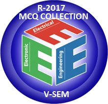 Electrical and Electronics Engineering R2017 Fifth Semester Subjects MCQ