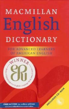 red MacMillan English dictionary