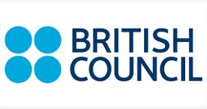 british council blue dots logo