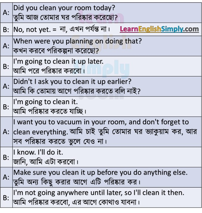Conversation Part 20 - Learn English Simply