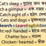 Idioms & Phrases Part 45