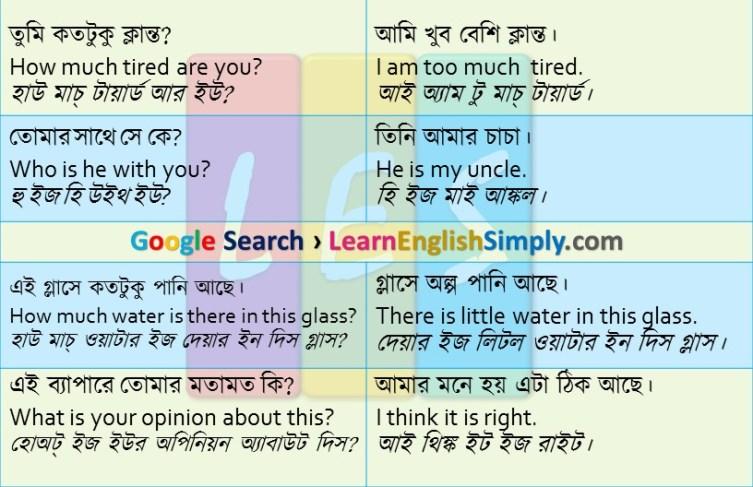Spoken English Part 01
