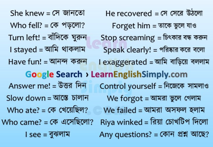 Daily Used Short Sentences | Part 09 - Learn English Simply