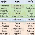 Synonyms Part 07