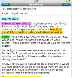 email writing grammar please see below mail [ 1563 x 3891 Pixel ]